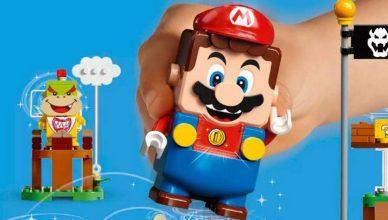 Super Mario Lego disponível para pré-encomenda
