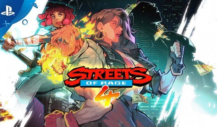 Streets Of Rage 4' data de lançamento relevada em vazamento da Nintendo