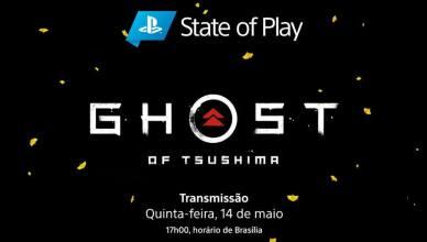 State of Play da Sony nesta quinta será sobre 'Ghost of Tsushima'