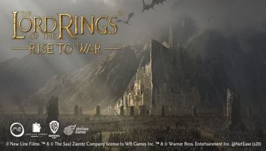 WB Games anuncia 'The Lord of the Rings: Rise to War' mobile