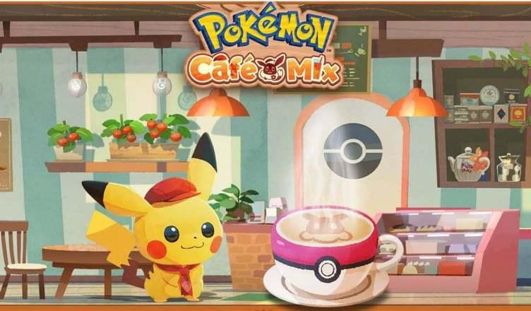 Pokémon Café Mix anunciado para Switch e Mobile