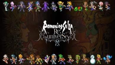 'Romancing SaGa Re;univerSe' já disponível no Android e iOS