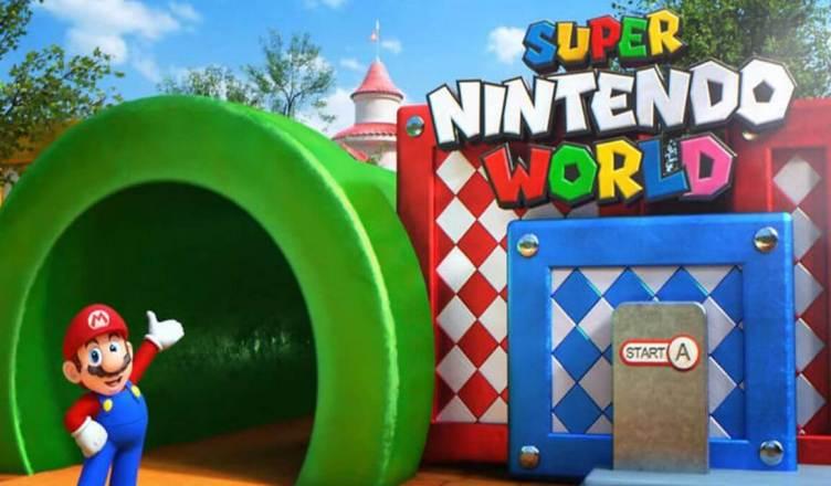 Super Nintendo World' ganha vida com novo vídeo de moedas giratórias