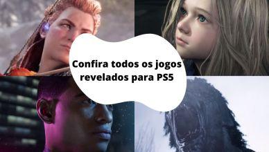 O Futuro dos Games: Confira todos os jogos revelados para o PS5