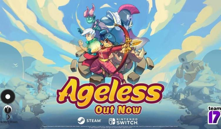 "Team17 lança hoje ""Ageless"" no Nintendo Switch"