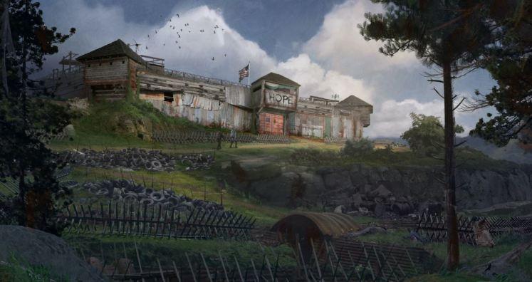 Evolve revela nova arte conceitual de 'Back 4 Blood'