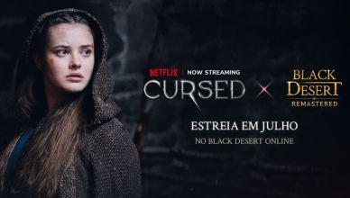 Black Desert lança Crossover com Cursed – A lenda do lago, série da Netflix!