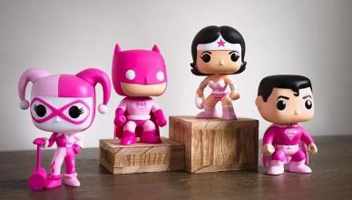 DC Comics Funko se vestem de rosa para ajudar pesquisa do câncer de mama
