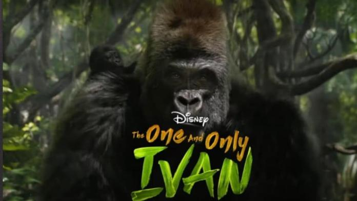 'Disney Plus' lança trailer de 'The One and Only Ivan'
