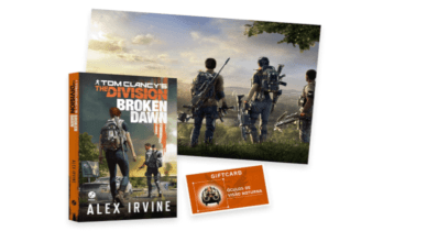 "Ubisoft anuncia livro ""Tom Clancy's The Division Broken Dawn"""