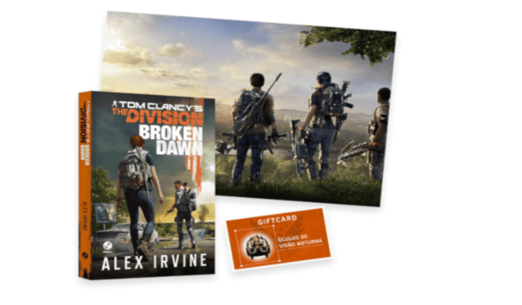 "Ubisoft anuncia livro ""Tom Clancy's The Division Broken Dawn"""