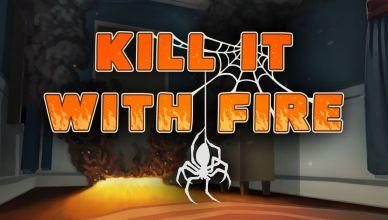 Kill It With Fire : Acabe com os aracnídeos em game que chegou hoje ao PC!