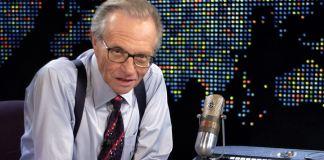 Larry King, lenda da CNN americana, morre aos 87 anos
