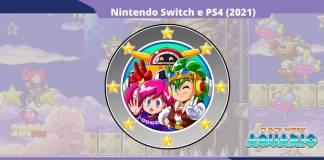 Clockwork Aquario é anunciado para Nintendo Switch e PS4