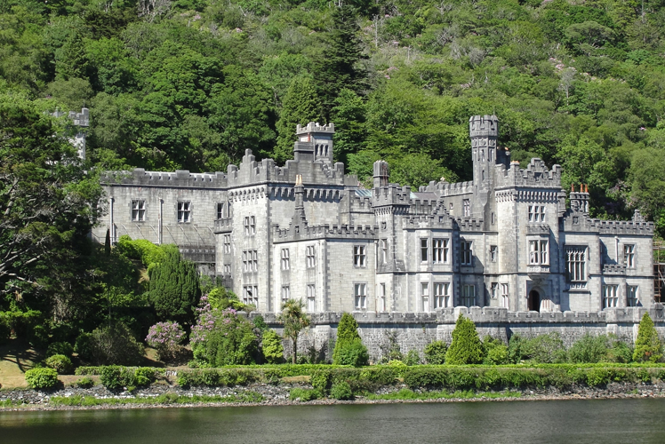 Kylemore Abbey + Victoria Walled Garden