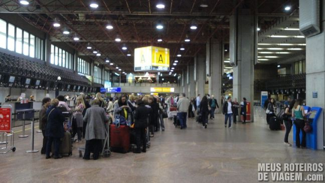Terminal 1 - Check-in A - GRU Airport