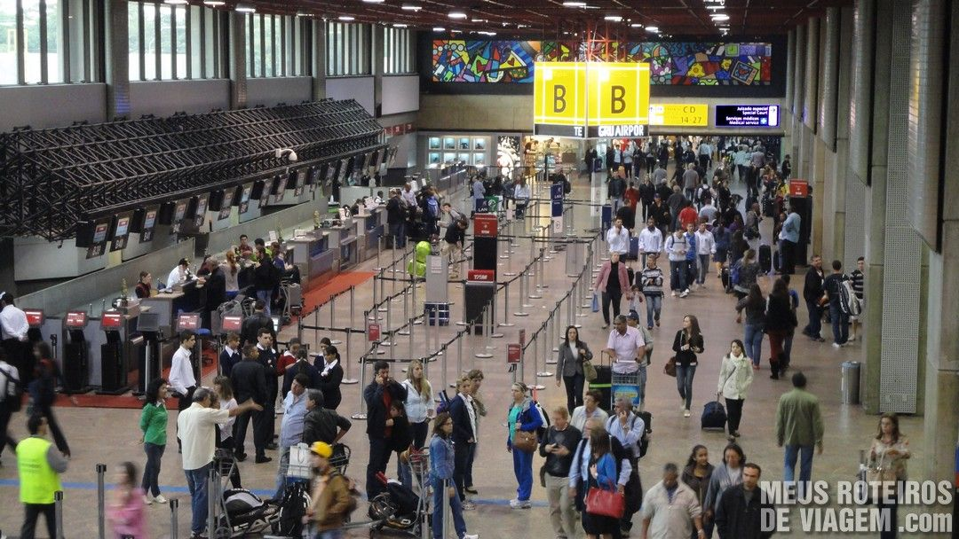 Terminal 1 - Check-in B - GRU Airport