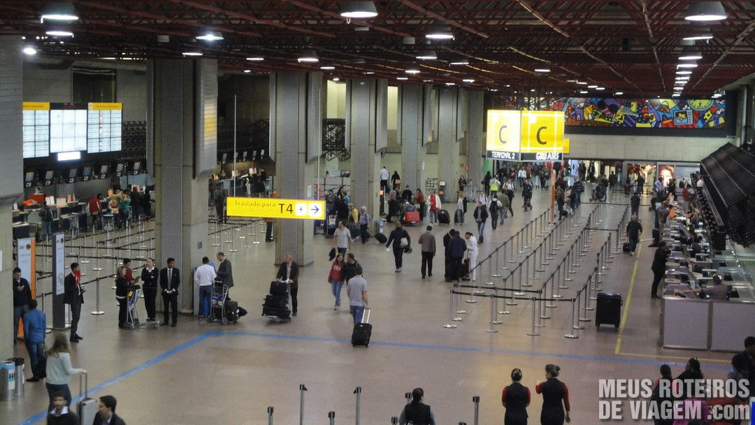 Terminal 2 - Check-in C - GRU Airport