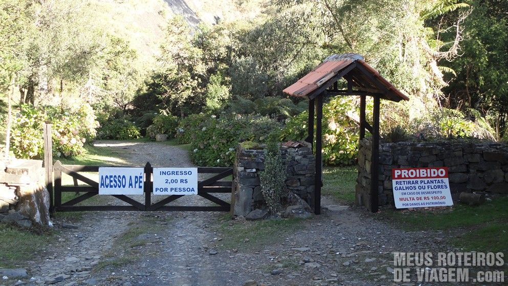 Cascata Véu de Noiva - Urubici/SC