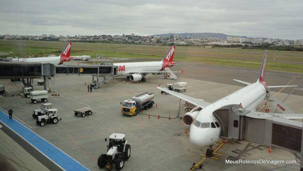 Pátio do Aeroporto de Porto Alegre
