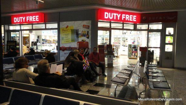 Duty free no aeroporto de Porto Alegre