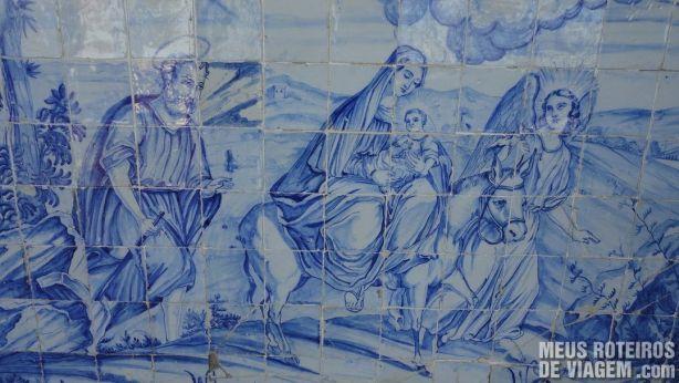 Painel de azulejos da Igreja de Nosso Senhor do Bonfim - Salvador
