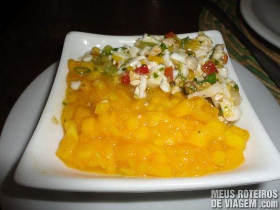 Salada Duka no Restaurante Paraíso Tropical - Salvador