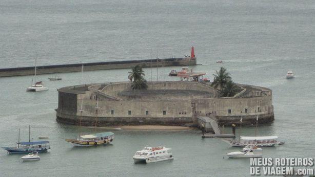 Forte São Marcelo - Salvador, Bahia