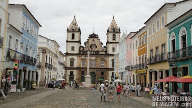 Praça Anchieta - Centro Histórico de Salvador, Bahia