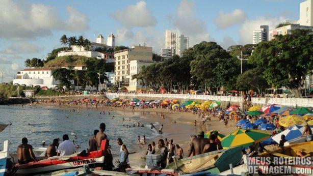 Praia do Porto da Barra - Salvador, Bahia