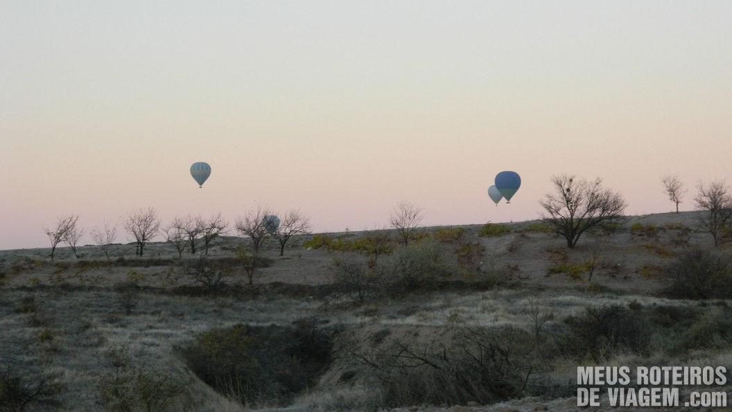 Balões na Capadócia - Turquia