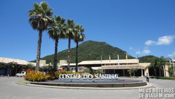 Entrada do resort Costão do Santinho - Florianópolis
