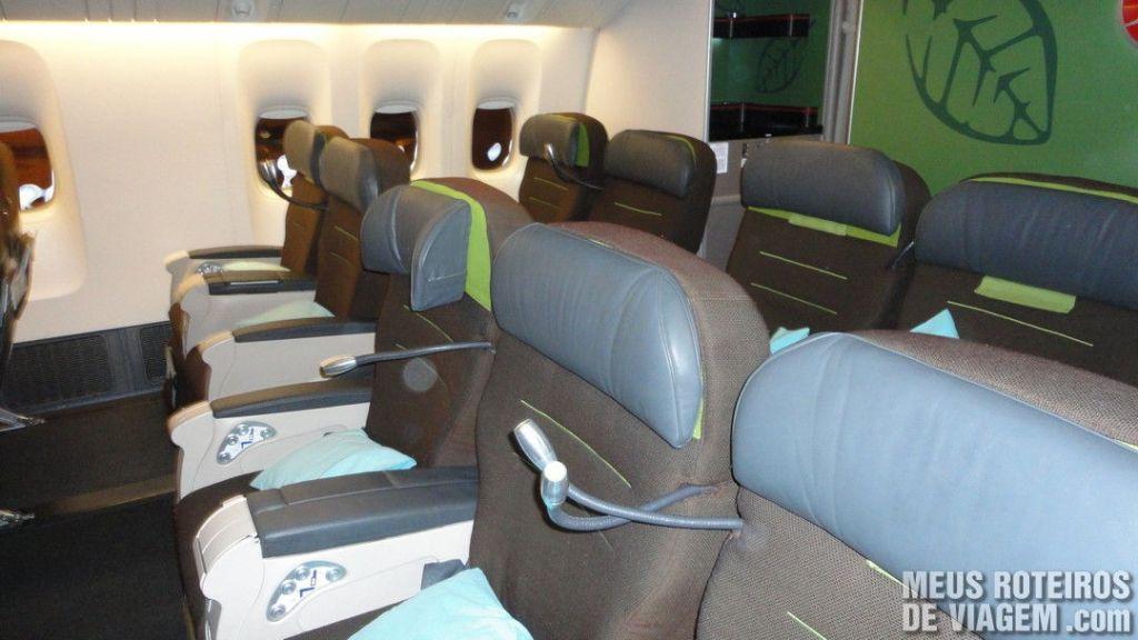 Classe Confort da Turkish Airlines