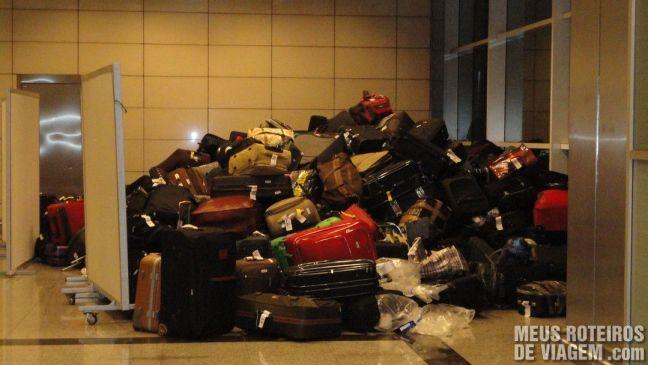 Malas perdidas no Aeroporto Internacional de Istambul Ataturk