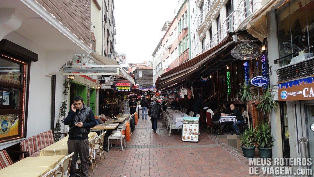 Rua Incili Çavus Sok - Istambul, Turquia