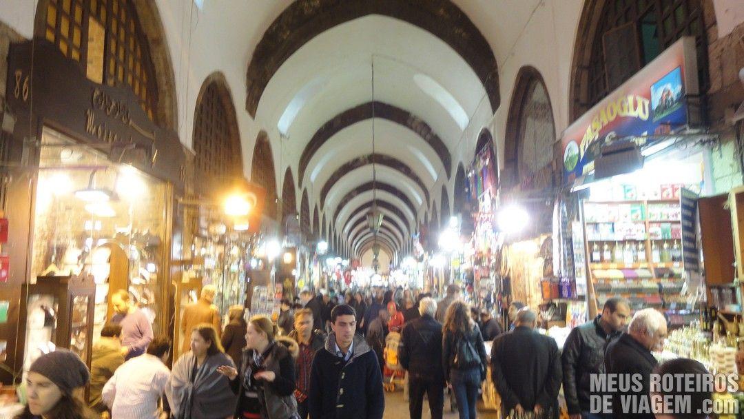 Bazar Egípcio - Istambul, Turquia