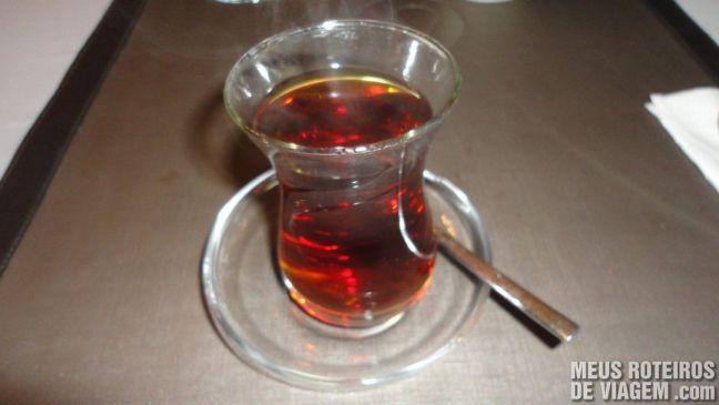 Chá turco - Istambul, Turquia
