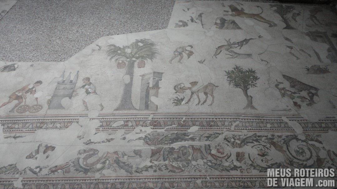 Museu de Mosaicos do Grande Palácio - Istambul, Turquia