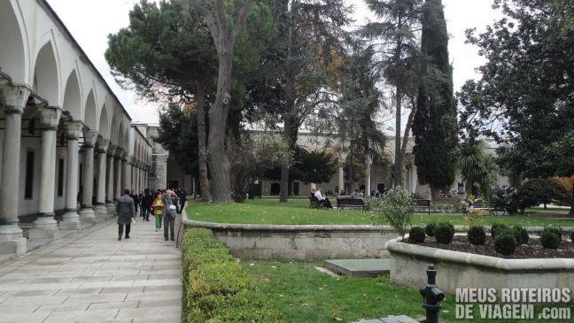 Pátio do Palácio Topkapi - Istambul, Turquia