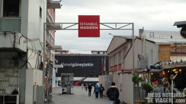 Acesso ao Museu Istanbul Modern - Turquia