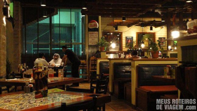 Restaurante Chilli's - Dubai