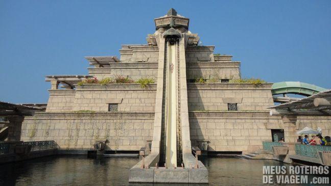 Pirâmide do Aquaventure - Atlantis The Palm, Dubai