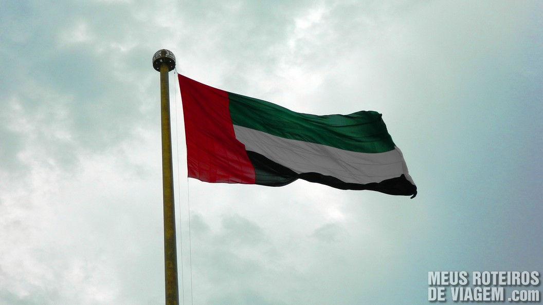 Bandeira dos Emirados Árabes