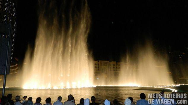 Show das Fontes de Dubai - Dubai Fountain
