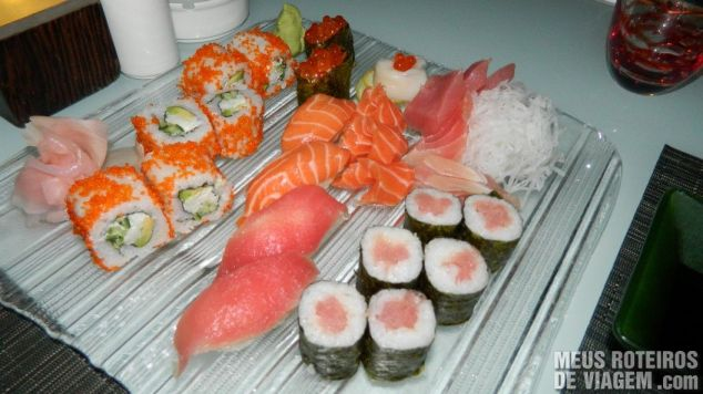 Sushi Supreme no Nasimi Beach Club - Atlantis, Dubai