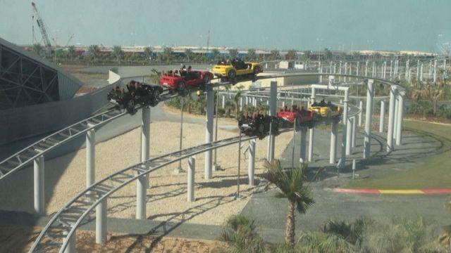 O circuito da Fiorano GT Challenge (fonte: themeparkreview.com)
