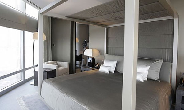 Suíte do Armani Hotel (fonte: extravaganzi.com)