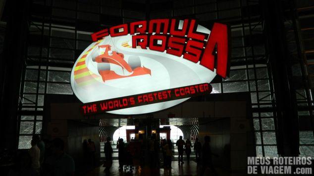 Formula Rossa no Ferrari World - Abu Dhabi, Emirados Árabes