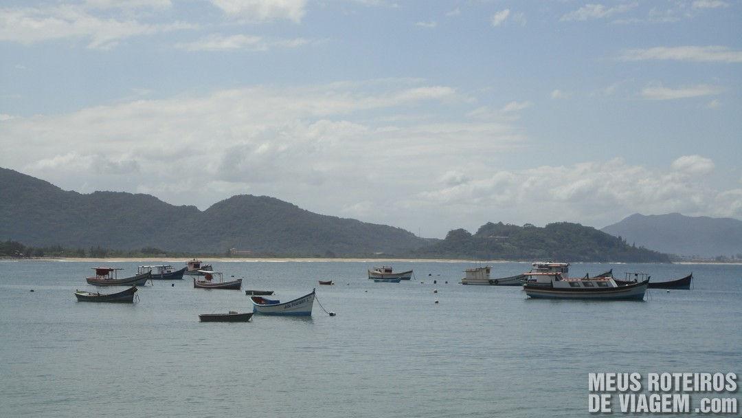 Barcos na Armação - Floripa