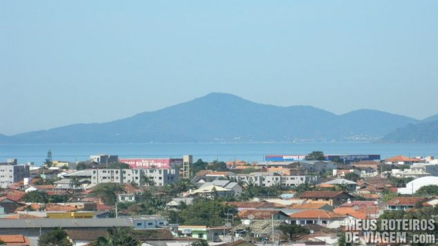 Vista do mirante na Parada Havan - Barra Velha / SC